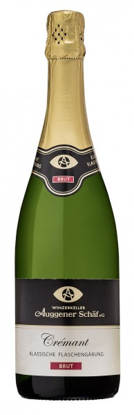 Baden Crémant Sekt Brut – Flaschengärung 0,75 L - Winzerkeller Auggener Schäf