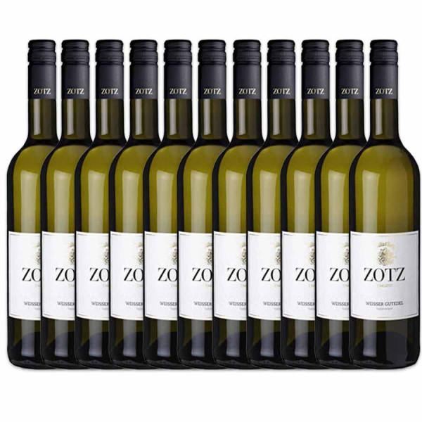 Spargelweinaktion - 11+1 - Weisser Gutedel - Weingut Julius Zotz