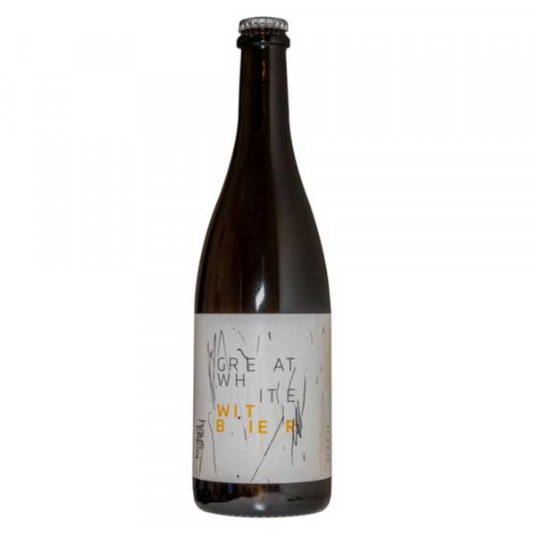 """Craft Bier """"Great White"""" - Belgisches Witbier 0,75L - Brauerei im Kesselhaus"""