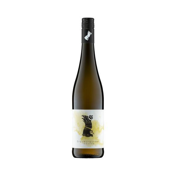 Grauburgunder trocken 2018 - Vegan - Weingut Scherer-Zimmer - Biowein