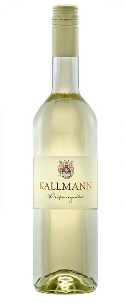 Weissburgunder 2017, lieblich, Badischer Landwein - Weinbau Kallmann