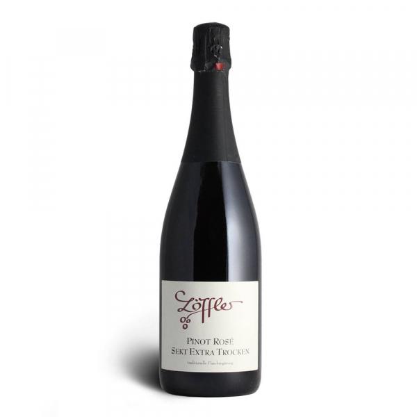 Pinot Rosé Winzersekt extra trocken - Weingut Löffler