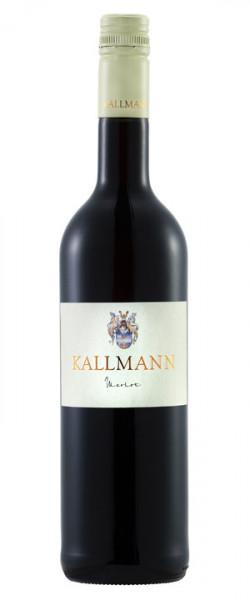 Merlot trocken 2017 0,5 Liter - Badischer Landwein - Weinbau Kallmann