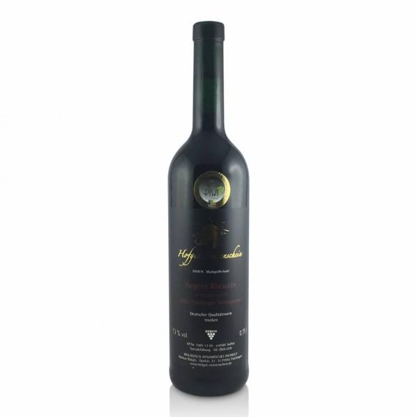 Regent Rotwein 2002, Barrique QbA trocken - Hofgut Sonnenschein