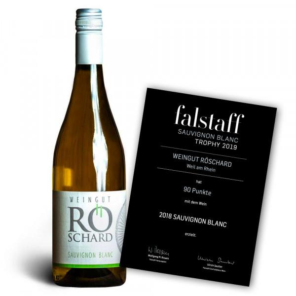 Sauvignon Blanc 2018 trocken - 90 Pt. Falstaff - Weingut Röschard