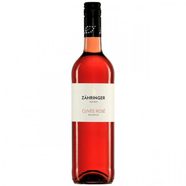 Cuvée Rosé Edelgräfler trocken 2019 - Bio-Wein - Weingut Zähringer