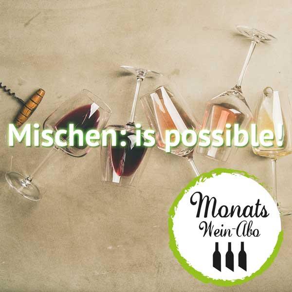 """MONTAS Weinabo """"Mischen: is Possible"""" - Gemischtes Wein Abo"""