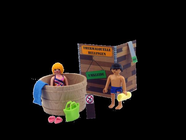 Beutelratte Spielsets - Der Badebottich
