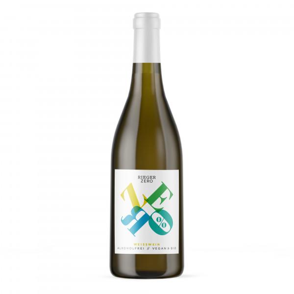 ZERO Weisswein alkoholfrei / vegan - Weingut Rieger - Biowein