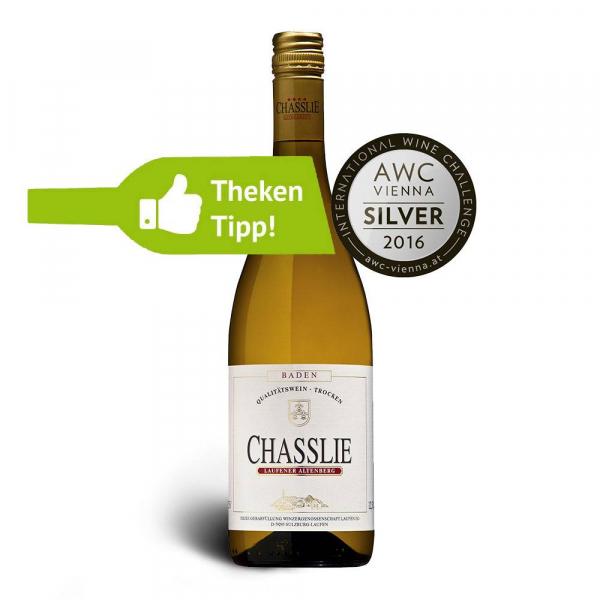 Gutedel CHASSLIE, Qualitätswein, trocken