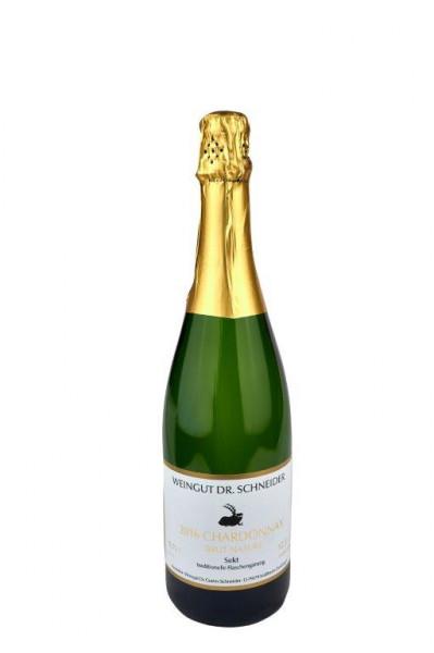 Winzersekt Chardonnay Brut Nature 2016 - Weingut Dr. Schneider