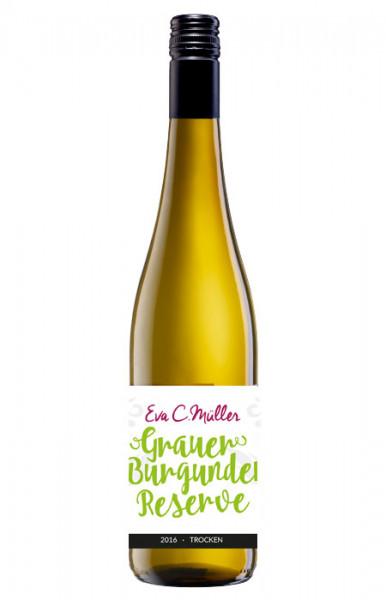 Grauburgunder Resérve trocken 2017 - Orangewein Cuvée