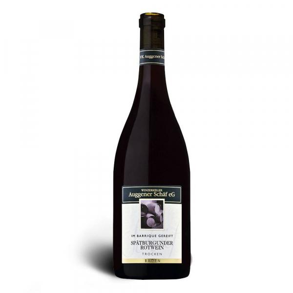 Spätburgunder Rotwein, Qualitätswein trocken 2017, Barrique - Winzerkeller Auggener Schäf