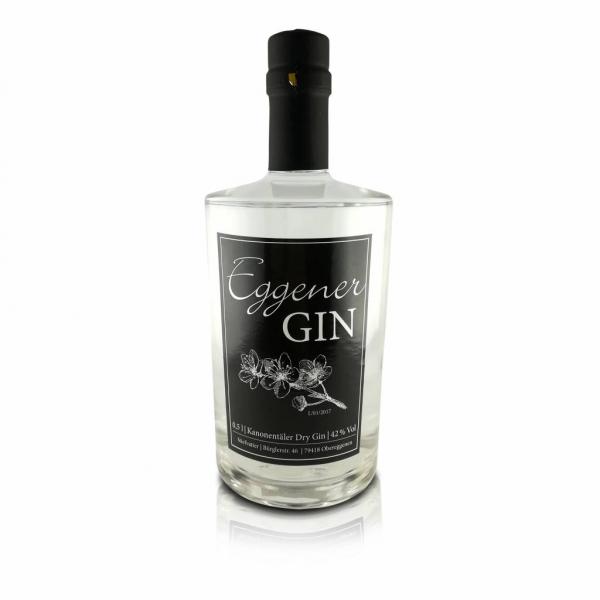 Eggener Gin (DLG Silber 2018) - Hausbrennerei Stiefvatter