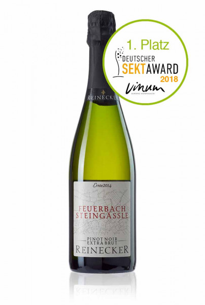 Feuerbacher Steingässle - Pinot Noir Winzersekt - Extra Brut - Sektkellerei Reinecker