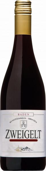 Zweigelt Rotwein Qualitätswein trocken - Winzerkeller Laufener Altenberg