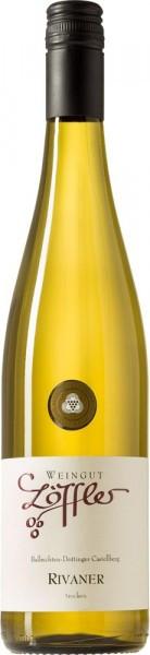 Rivaner (Müller Thurgau) Qualitätswein trocken 2017 - Weingut Löffler