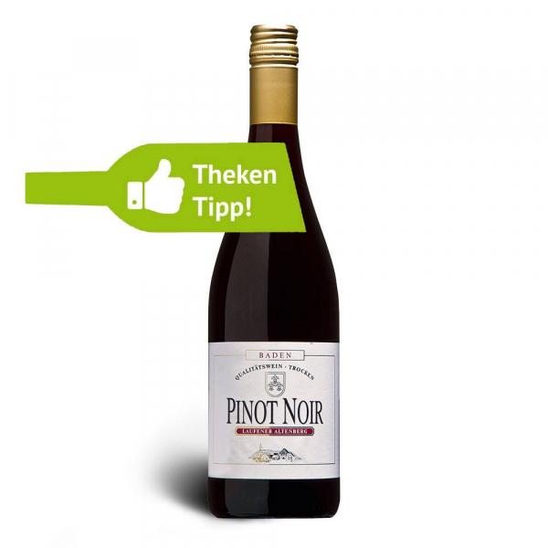 Pinot Noir Rotwein 2015, Qualitätswein, trocken