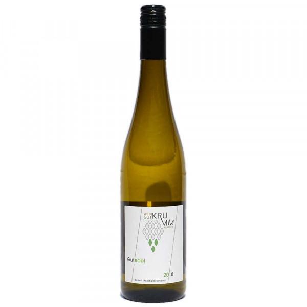 Gutedel trocken 2018 Qualitätswein - Weingut Krumm