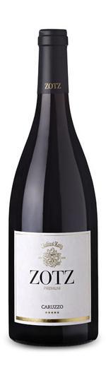 Caruzzo Rotwein Cuvée Barrique tr. 2015 - Merlot & Cabernet Sauvignon - Weingut ZOTZ