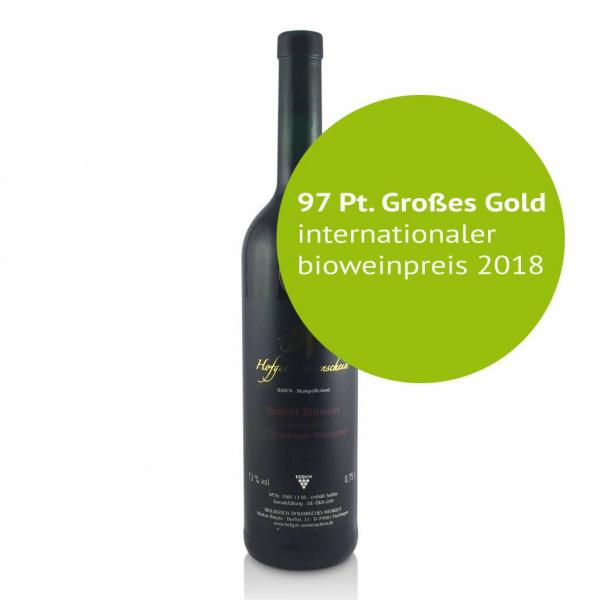 Regent Rotwein Auslese Barrique 2015 trocken - Hofgut Sonnenschein