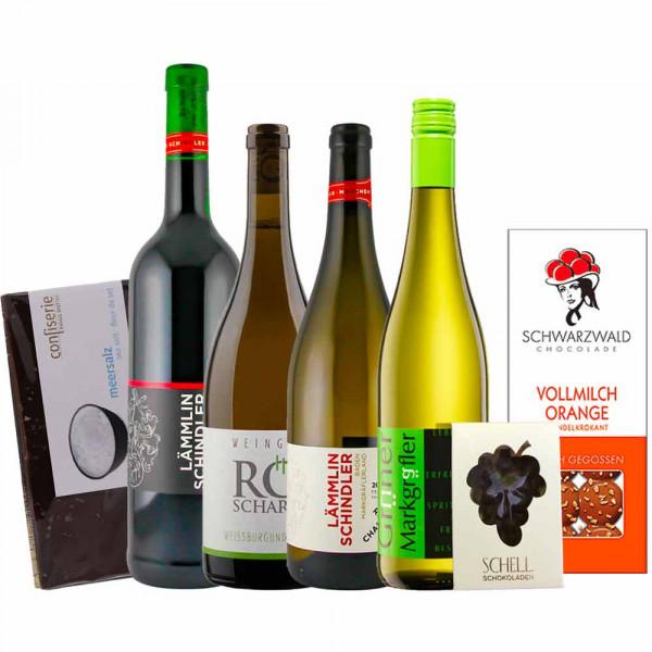 """Online Weinprobe """"Choc au Vino"""" - Paket zur Online Weinprobe am 29.10.2021"""