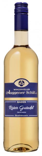 Roter Gutedel Qualitätswein 2018 trocken, Maischegärung - Winzerkeller Auggener Schäf