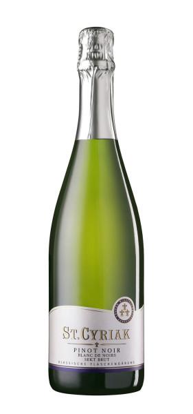 """Winzersekt Pinot Noir Blanc de Noirs """"St. Cyriak"""",Brut - Winzerkeller Laufener Altenberg"""