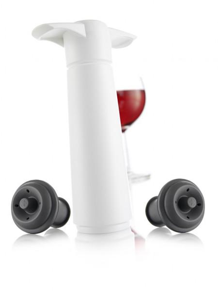 """Vacu Vin Weinpumpe """"Weiß"""" inkl. 2 Stopfen"""