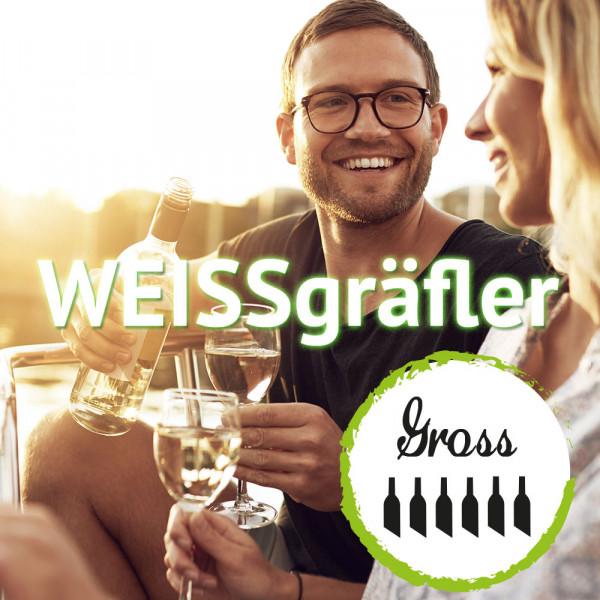 """12+1 Weinabo """"WEISSgräfler""""- Großes Wein-Jahresabo - 13. Lieferung gratis!"""