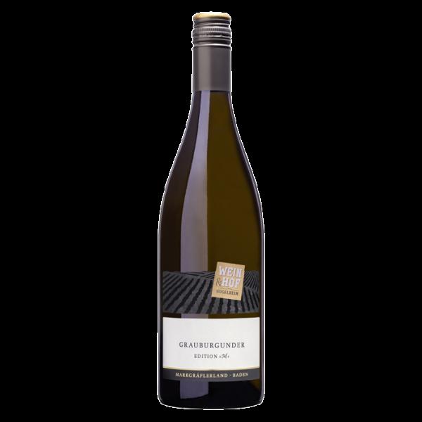 Grauburgunder EDITION »M« QbA 2018 trocken - Wein & Hof Hügelheim