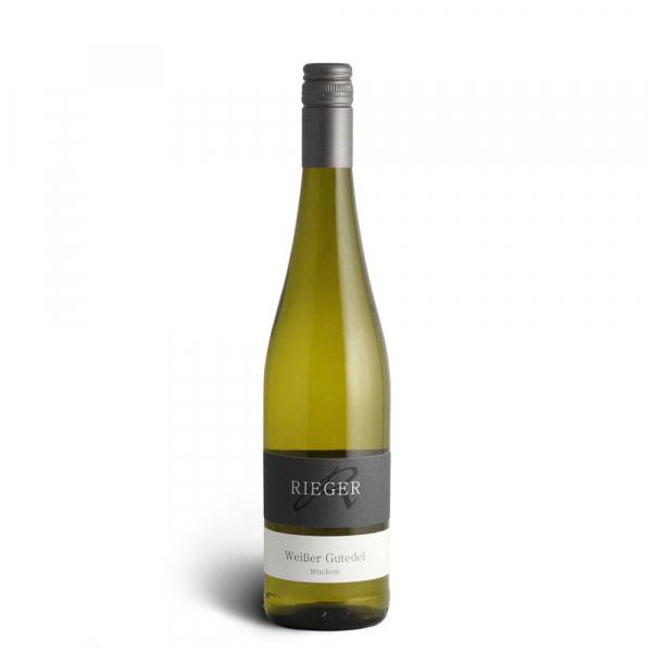 Weißer Gutedel trocken 2019 - Weingut Rieger - Biowein