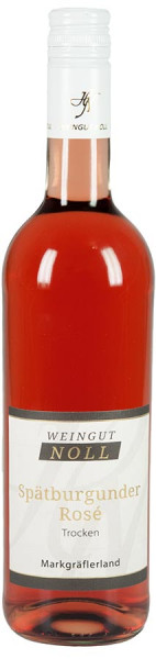 Spätburgunder Rosé trocken 2019 Qualitäswein - Weingut Noll