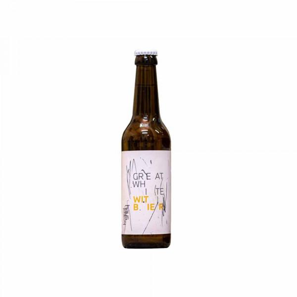 """Craft Bier """"Great White"""" - Belgisches Witbier 0,33L - Brauerei im Kesselhaus"""