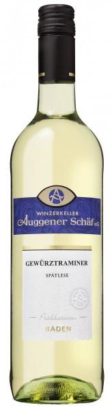 Gewürztraminer Spätlese 2018 - Winzerkeller Auggener Schäf