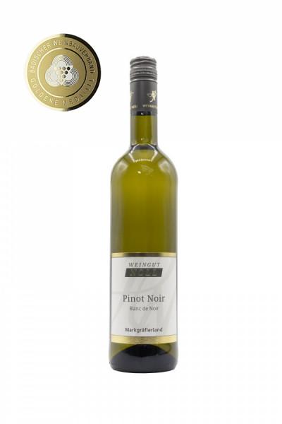 Pinot Noir Blanc de Noir trocken 2019 Badisches Gold - Weingut Noll
