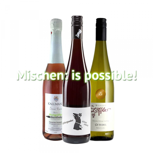"""Mischen: is Possible"" - 3er Weinabo"