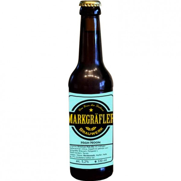 "High Noon ""American Pale Ale"" 0,33 L - Markgräfler Brauwerk"