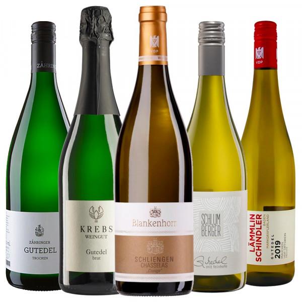 GUTEDEL Champs Weinpaket zur Online Weinprobe am 19.06.2020 - 19 Uhr