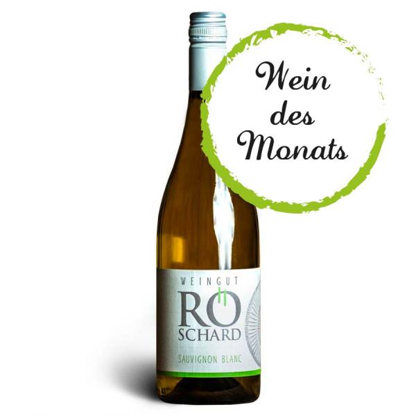 Sauvignon Blanc 2017 trocken - WEIN des MONATS 05/2020 - Weingut Röschard