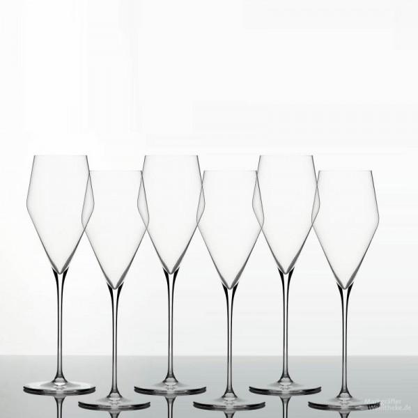Denk'Art - ZALTO Glas - Champagner - 6 er Pack - versandkostenfrei
