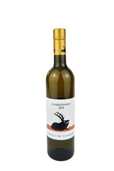 Chardonnay trocken 2019 - Goldene Kapsel - Weingut Dr. Schneider