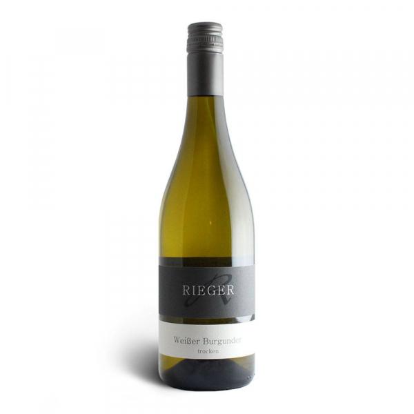 Weißer Burgunder trocken 2019 - Weingut Rieger - Biowein