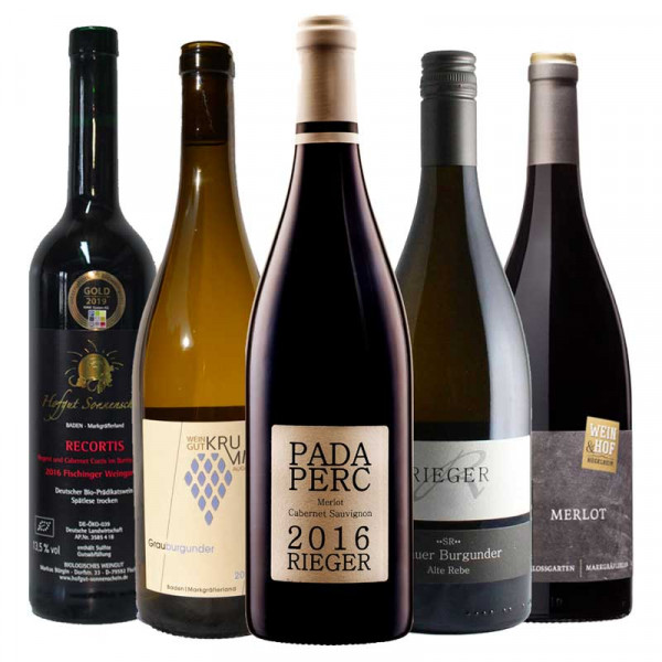 """Online Weinprobe """"On Demand"""" – Die molligen Markgräfler 3.0 Weinpaket"""
