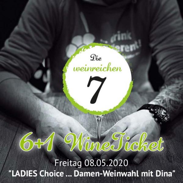 """6+1 WineTicket """"Die weinreichen 7 - """"LADIES Choice"""" (ABGESAGT!)"""