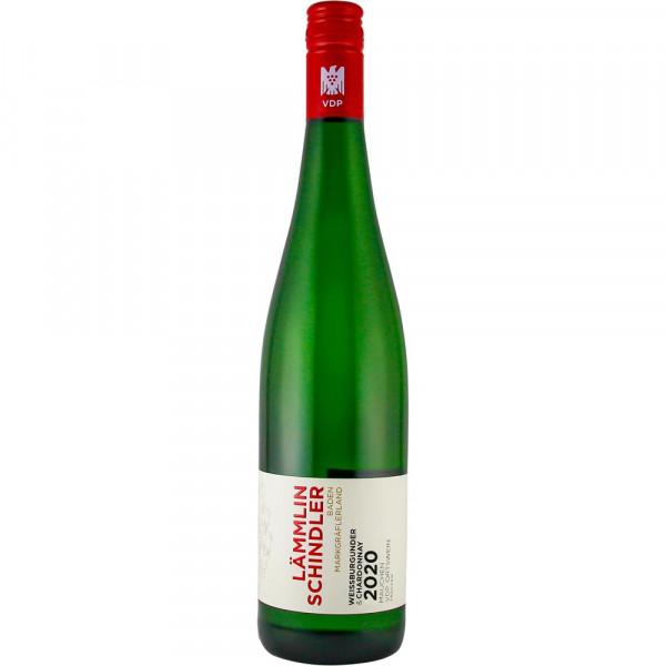 Weißburgunder & Chardonnay 2020, trocken- VDP Ortswein- Weingut Lämmlin-Schindler- Biowein