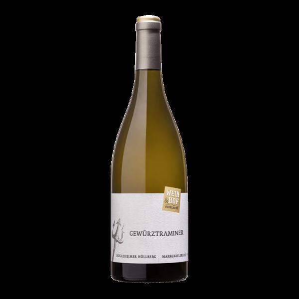 """Hügelheimer Höllberg Gewürztraminer """"Beste Lagen"""" QbA 2018 halbtrocken - Wein & Hof Hügelheim"""