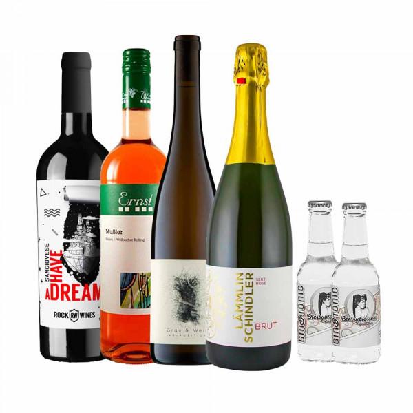 """""""GRILLING me winely"""" - Weinpaket zur Online Weinprobe"""