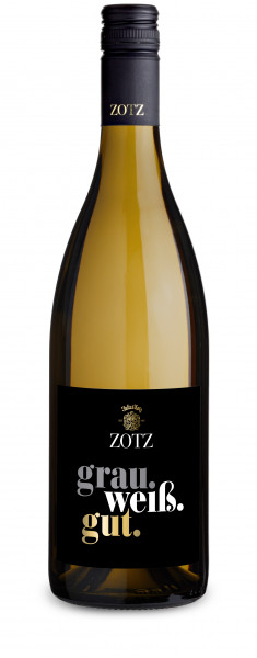 grau.weiß.gut. Weißwein Cuvée trocken 2019 - Weingut ZOTZ