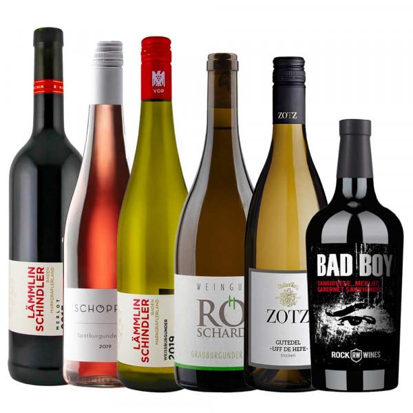 Firmen Online Weinproben Paket Herbst/Winter 2020/21 - 6er